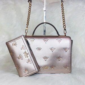 Kate Spade Maisie Embellished Crossbody Bag Wallet